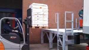 Botman's Koel- en Vrieshuis laadperron